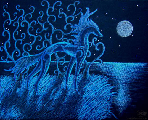 wicked horse art