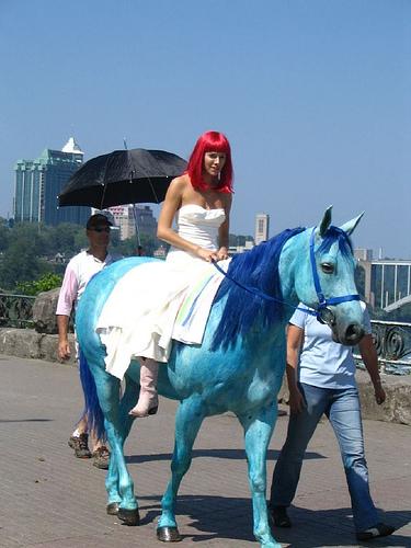 Sienna Miller on horseback