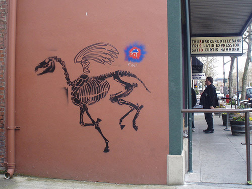 Horse Graffiti