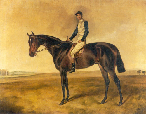 St. Simon with Jockey