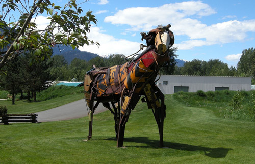 Unusual Horse Art